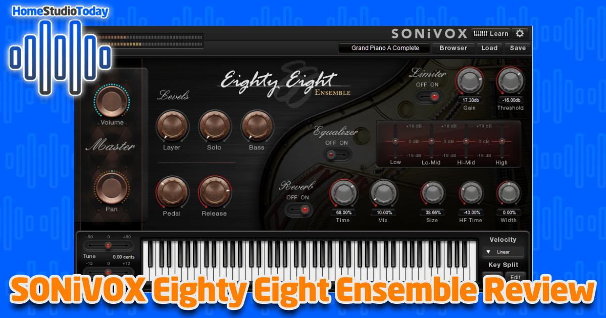 SONiVOX Eighty Eight Ensemble Review