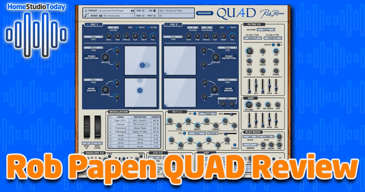 Rob Papen QUAD Review