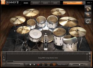 Toontrack EZdrummer 2 Review main plugin image