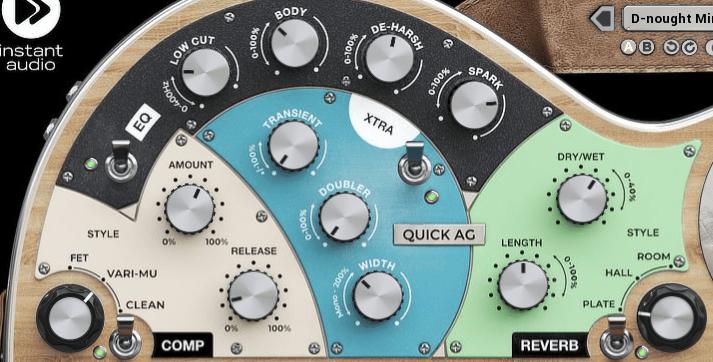 United Plugins Quick AG Review comp eq reverb xtra
