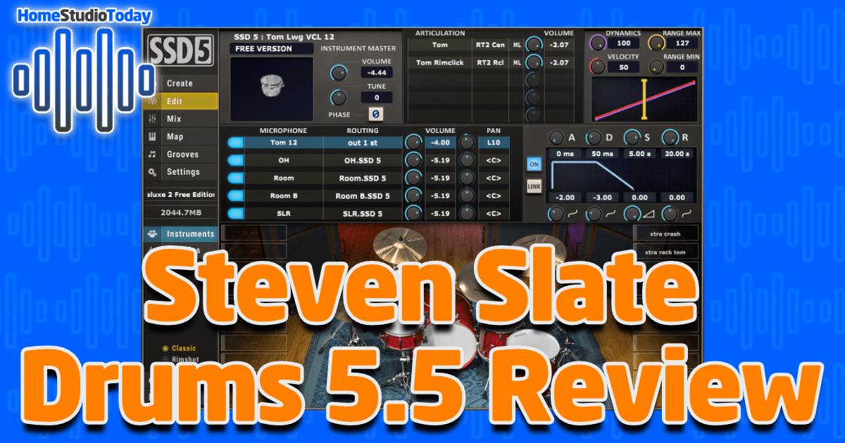 Steven Slate Drums 5.5 Review