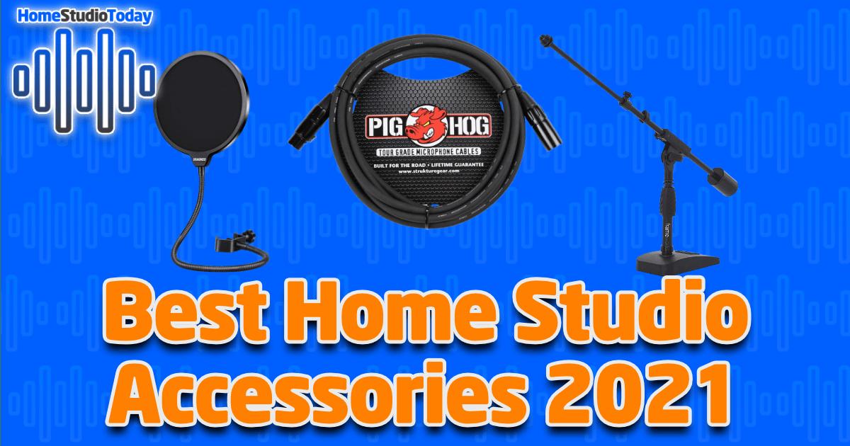 Best Home Studio Accessories 2021 featured image