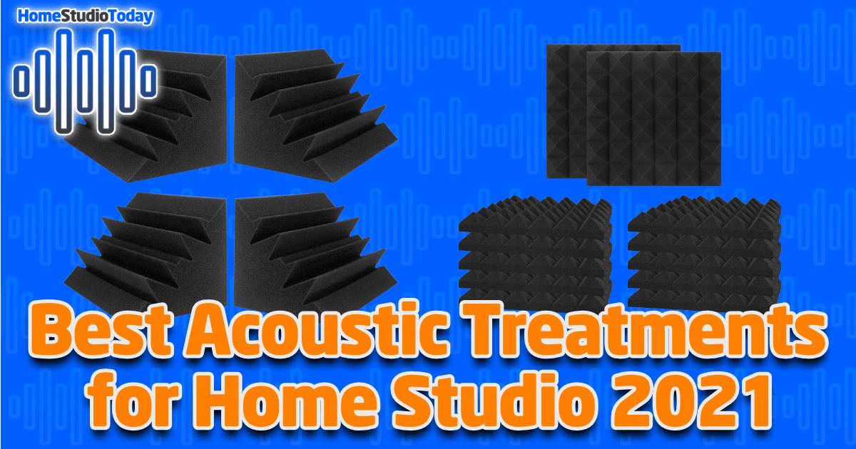 Best Acoustic Treatments for Home Studio 2021 featured image