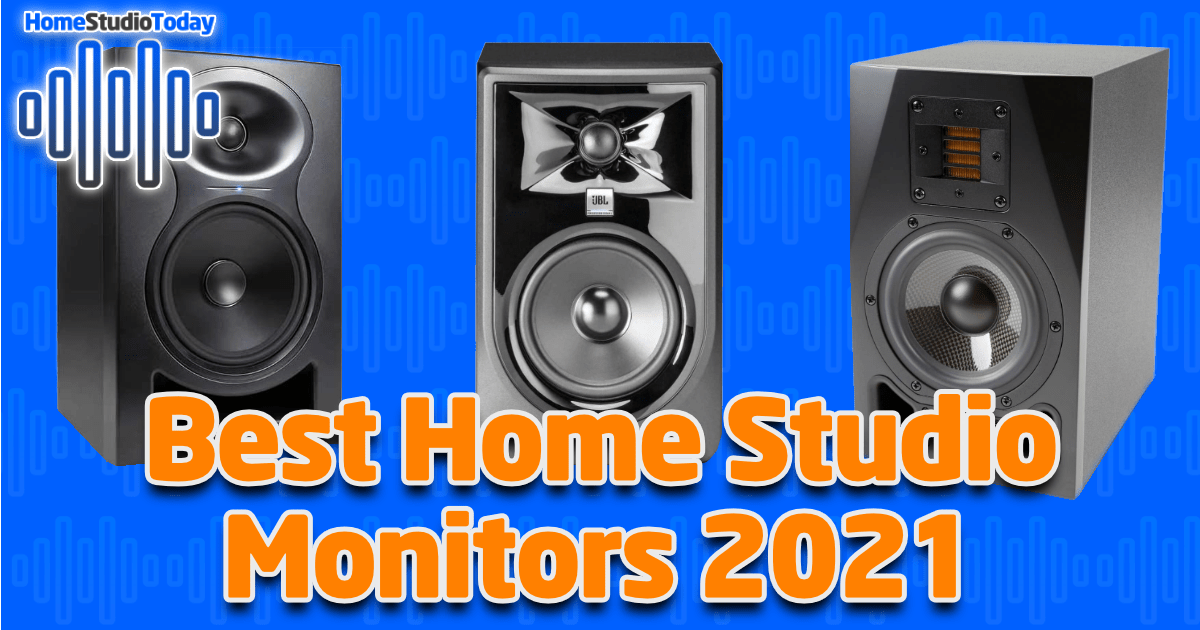 Best Home Studio Monitors 2021 featured image