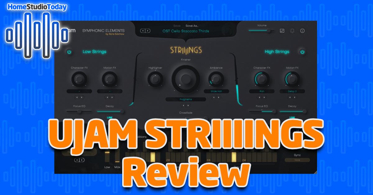 UJAM STRIIIINGS Review