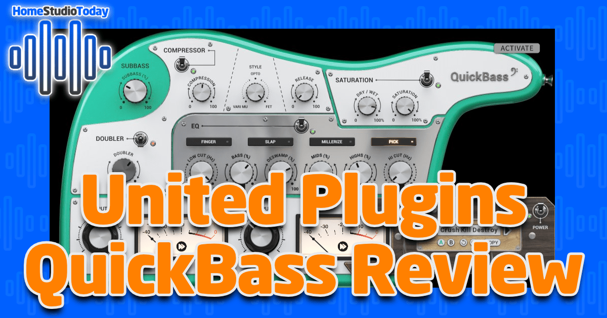 United Plugins QuickBass Review