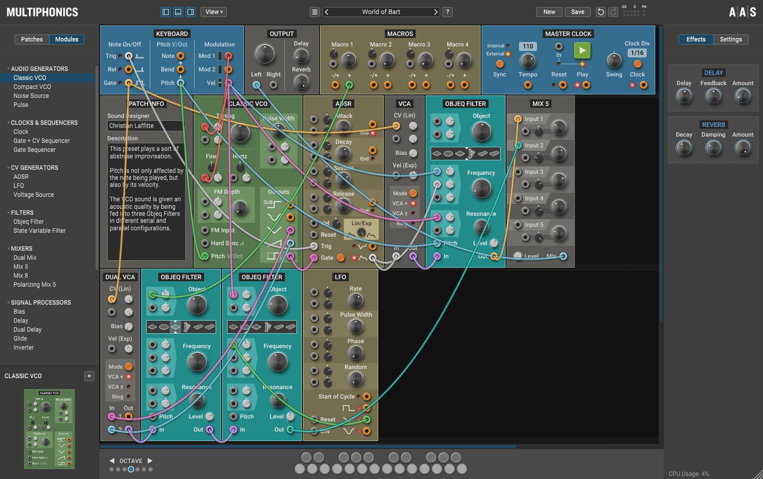 AAS Multiphonics CV-1 Review main plugin image