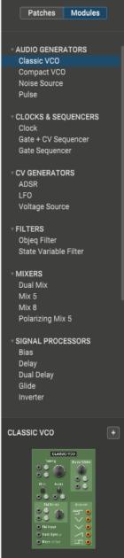 AAS Multiphonics CV 1 Review module selection