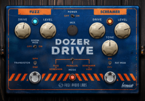 Fuse Audio Labs Dozer Drive Review main plugin image
