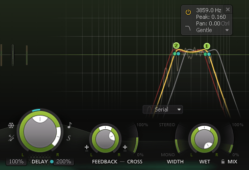 FabFilter Timeless 3 Review Delay Controls and Filters