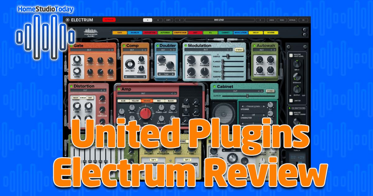 United Plugins Electrum Review
