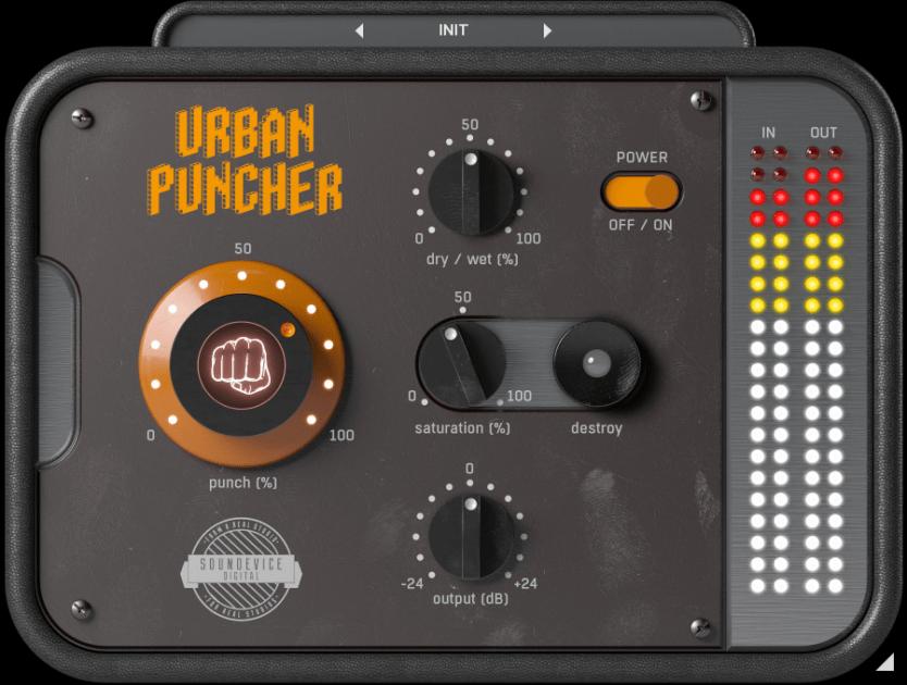 United Plugins Urban Puncher Review main plugin image